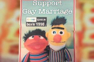 The cake at the centre of the so-called 'gay cake' row