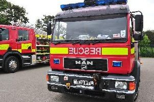 Man suffers burns attempting to put out house fire