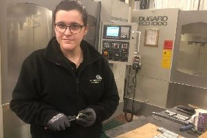 Rachel Horan is part of a team of aerospace engineers working with Ballygowan based engineering firm, McGreevy Engineering.