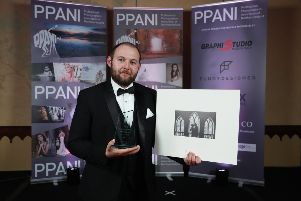 Mark Barnes Photography won two awards at a national photography event hosted by the PPANI. Photo by  Kelvin Boyes / Press Eye