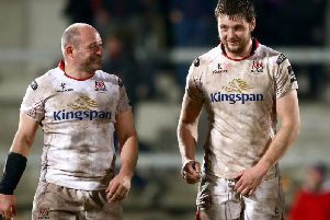 Rory Best and Iain Henderson