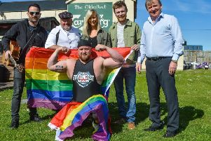 Thomas Hamilton, Music Yard, Marty McToal, Martys Catering, Holly McNaghten, make-up artist, Conor and Alex McNeil, Olderfleet, Chris McNaghten, Inspire Gym.