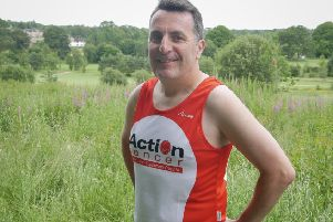 Jonny Graham who has organised the fundraising run at Ecos Park on July 25.
