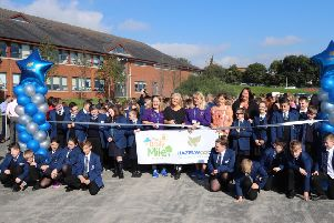 The pupils took part in the scheme on September 20.