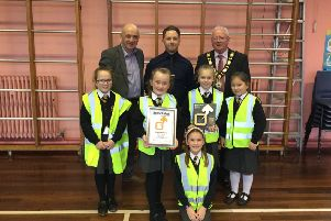 The school received the award on January 24.