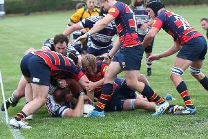 Action from ONs' win at Leighton Buzzard