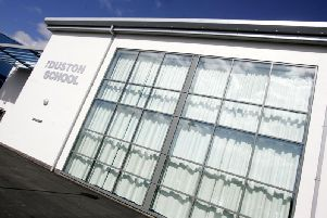 The Duston School has lost its 'Outstanding' rating in the latest Ofsted inspection.