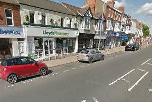 Police are appealing for witnesses after the break-in at Lloyds Pharmacy.