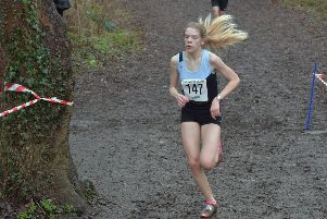 Amy Walker finished 54th in the Under-17s race