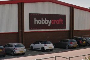 Hobbycraft, St James. Google Maps