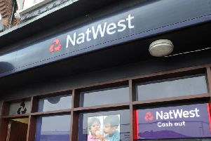 Natwest is to close its branch at St James Retail Park after a fall in the number of people using it.
