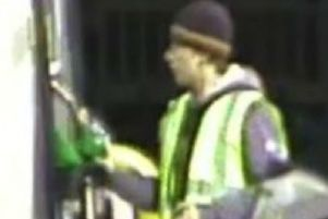 CCTV images have been released by Northamptonshire Police