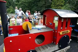 The play train in its former guise
