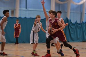 Action from Northants Thunder Under-14s' win over Worcester (Pictures: Dave Ikin)