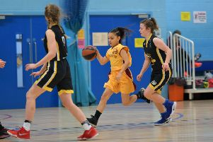 Action from Northants Lightning Under-14s against Bucks Hornets (Pictures: Dave Ikin)