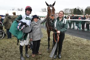 Cropredy Lawn trainer Paul Webber has enjoyed a Towcester winner at each of the first three Northants fixtures this season courtesy of Copperfacejack, Cosmic Diamond and Miss Tongabezi