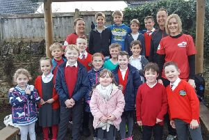 The children of Pitsford Primary School together ran over 1,300 miles.