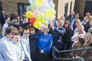 Balloons were launched in support of mental health awareness in Northamptonshire.