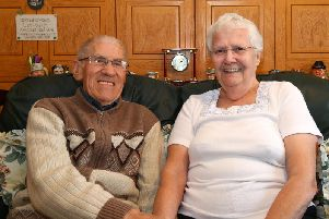 Alan and Barbara have been married for 61 years.