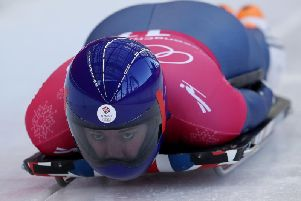 Lizzy Yarnold successfully defended her Olympic skeleton title last week. (Picture: David Davies/PA Wire)