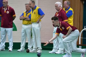 Action from Northants Men's Midland Counties win over Bedfordshire