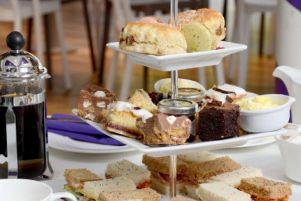 You could win afternoon tea at Cadbury World
