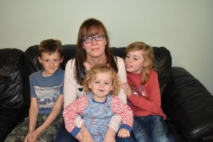 Donna Marriot, started up the Facebook group earlier this year. (Here she is pictured with her three sons).