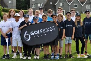 The GolfSixes comepetition at Overstone Park was a big success