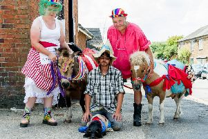 Villagers enjoy two days of fun in the sun raising thousands for charity at Crick Scarecrow Festival