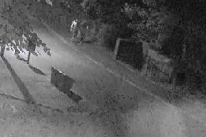 These people are being sought as potential witnesses to a murder in Brackley. Photo: Northamptonshire Police