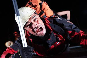 Josh Williams in Touching the Void