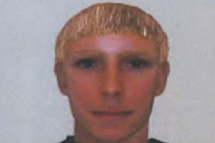 Police have released this e-fit of one of the suspects