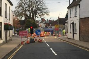 After six months the A5 in Towcester is set to re-open