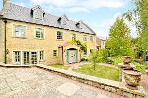 Take a peek inside this gorgeous farmhouse with its own swimming pool, gym and cinema