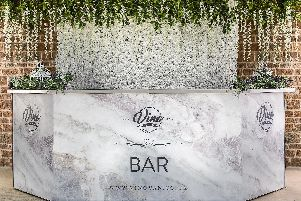 The Vino Van's Gin & Fizz bar is set to open in the Grosvenor Centre this Christmas.