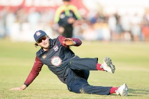 Alex Wakely has signed a new Northants deal (picture: Kirsty Edmonds)