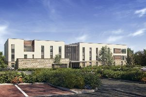 A 3D render of what the new Brackley Medical Centre will look like