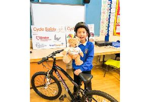 Talented Andrew winning safety helmet design was picked out of over 4,500 entries.