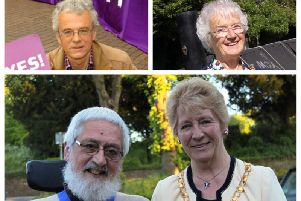 Clockwise from top left: Ken Ritchie, Catherine Lomax, Deanna Eddon and Alan Chantler have all added their names to the submission