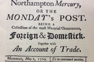 Column: Extraordianry tales found in 18th century Northampton newspaper!