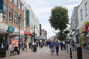 Despite the loss of Marks & Spencer, the vacancy rate in the town centre is down on the 2010 figure