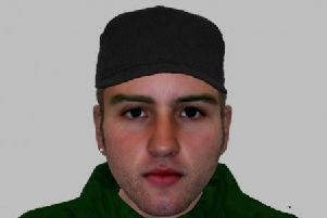 Anyone who recognises the man in the e-fit is asked to contact NorthamptonshirePolice on 101.
