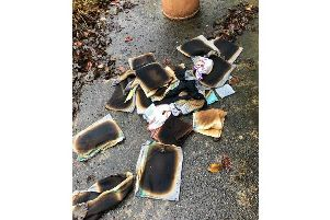 These types of fires happen when apparently clean tea towels containing residue fats or grease are taken from the tumble dryer and piled up, holding the heat still within the centre of the stack