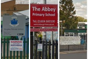 Three Northampton primary schools formally 'reopened' as academies this month.