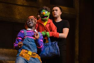 Avenue Q is being staged at the Royal & Derngate