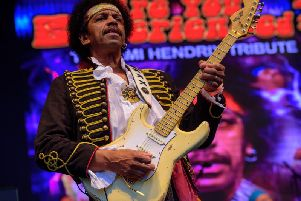 Are You Experienced? are widely recognised as Europes premier Hendrix tribute band