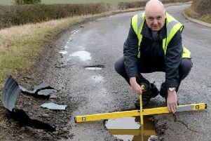 Mark Morrell aka Mr Pothole