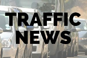 Traffic news from the Chronicle & Echo ahead of the afternoon commute.