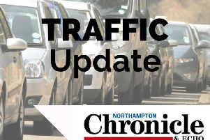 All lanes have now been opened, near Northampton, on the M1 southbound carriageway.