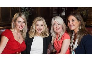 Actor and model Nancy Sorrell, TV's Melinda Messenger, Dating Show Live creator Angela Watson and dating expert Lara Asprey